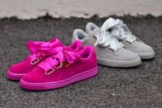 36 Best saten beby pink images | Bow sneakers, Sneakers