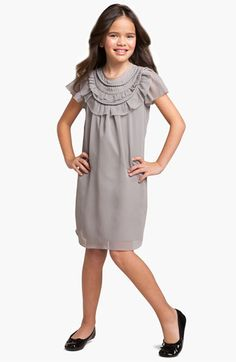 BLUSH by Us Angels Necklace Dress (Big Girls) available at #Nordstrom