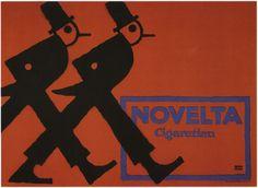 Lucian Bernhard, Novellta cigarrettes 1912