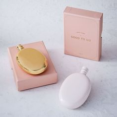 Odeme Flasks | west elm -- gold, $32