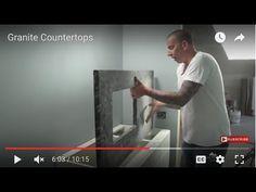 How to Install Granite Countertops - DIY - YouTube