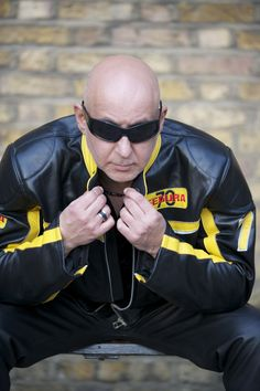 """DR M Loves """"Leathers & Sunglasses"""" No Matter What The Weather!"""