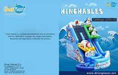 #Catálogo #Hinchables 2015 - www.diverplanet.net