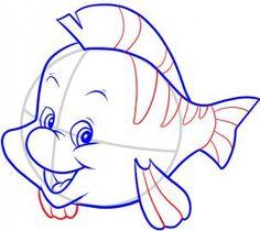Disney - How to Draw Flounder