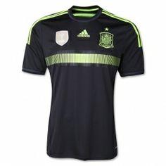 2014 World Cup Spain Away Black Jersey Shirt Football Kits, Football Jerseys, Fifa Online, World Cup Kits, Spain Soccer, Soccer Outfits, National Football Teams, Soccer Fans, Line Shopping