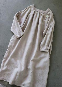 라르니에 정원 LARNIE Vintage&Zakka Cotton Linen, Dresses Online, Vintage Dresses, Style Me, Personal Style, Chic, Womens Fashion, How To Wear, Outfits