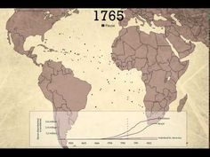 The Atlantic Slave Trade Visualized in Two Minutes: 10,000 Million Lives, 20,000 Voyages, Over 315 Years | Open Culture