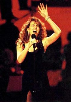 Mariah Carey...my favorite when she looked like this and it was her best music!