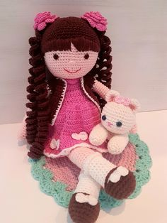Cada uma com seu charme 🥰. Are you curious about free crochet cabbage patch doll clothes patterns Crochet Dolls Free Patterns, Crochet Doll Pattern, Doll Patterns, Crochet Eyes, Crochet Baby, Diy Christmas Gifts For Boyfriend, Crochet Doll Tutorial, Knitted Dolls, Amigurumi Doll
