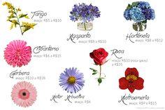 flores baratas para casamentos