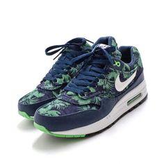 Nike 843937-002, Sneakers homme - noir - Black/Blue Glow/Wht, (M)