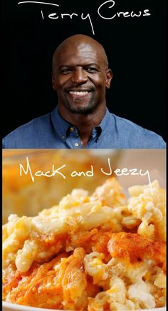 """Mack & Jeezy"" by Terry Crews Macaroni and Cheese https://www.buzzfeed.com/adambianchi/terry-crews-took-over-the-tasty-kitchen-and-made-his-famous"