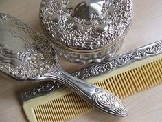 As a girl, I felt like a princess brushing my hair with a plastic silver brush. These tools today would definitely evoke the same feeling.