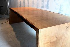 Tisch Esstisch Schreibtisch aus Eichenholz - Holzwerk Hamburg