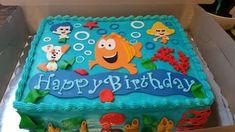 Buttercream Bubble Guppies sheetcake – My WordPress Website Bubble Guppies Birthday Cake, Bubble Birthday Parties, Bubble Guppies Party, Baby Birthday, Frozen Birthday, Birthday Ideas, First Birthdays, Ladybug Party, Doc Mcstuffins