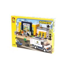 Oxford Lego Style Block Toy ST33311- Town Series Bank