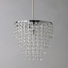 Buy John Lewis & Partners Annette Easy-to-Fit Ceiling Shade from our Ceiling Lighting range at John Lewis & Partners. Drop Ceiling Lighting, Lounge Lighting, Ceiling Shades, Bedroom Lighting, Home Lighting, Ceiling Lights, White And Silver Bedroom, Glitter Room, Diy Home Decor On A Budget