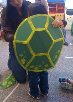 Turtle costume by wrnking, via Flickr