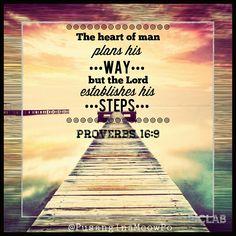 proverbs 6 16 | Proverbs 16:9 #Bible #verse | Quotes, Words, Verses & Songs ...