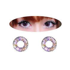Circle lenses EYEWISH  - Sakura 4Tone (Purple) - Girlsight  - 1