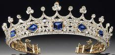 Tiara Mania: Queen Victoria of the United Kingdom's Sapphire Coronet