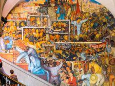 8 spots to discover Mexico City's most impressive murals