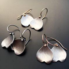 Image of Dogwood Petal Earrings