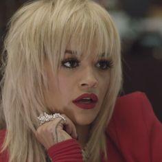 Fringe Rita Ora - Black Widow