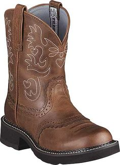 Ariat 10000860 - Women's 8 Inch Fatbaby Saddle Style