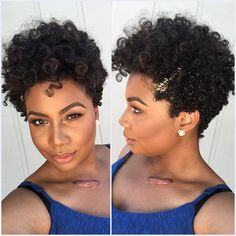Love her tapered fro!