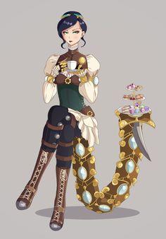 Madame Blade Serqet by Kisekii-i.deviantart.com on @DeviantArt