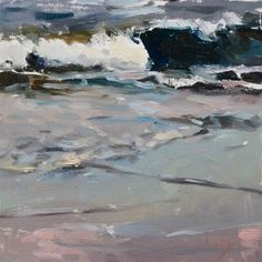 "Daily Paintworks - ""Sun Down at San Luis"" - Original Fine Art for Sale - © Randall Cogburn"