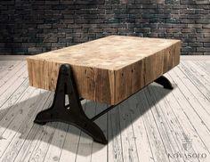 Tøft,+solid+og+virkelig+unikt+Elmwood+sofabord!+Bordet+er+produsert+av+resirkulerte+høytstående+stykker+av+alm+og+er+et+bordet+utenom+det+vanlige!+Det+resirkulerte+treverket+vil+bære+tydelig+preg+av+sitt+tidligere+liv+og+ingen+to+bord+vil+være+like.+På+grunn+av+sammensetning+av+mange+mindre+stykker+tre+må+de+påregnes+høydeforskjeller,+fargevariasjoner,+sprekker+og+skjevheter+da+dette+er+en+naturlig+og+akseptert+del+av+produktet.Mål:Bredde+(bordplate)+ca+130+cmBredde+(inkl+fot)+c...