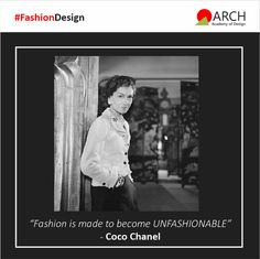 The Fashion Course focuses on creative, intellectual and innovative dimensions in fashion learning. Arch Academy of Design promotes the seeking and realization of new ideas, thus enriching fashion for the next generation! #ArchAcademyofDesign #ADesignThinker #FashionDesign #FashionDesignCourse