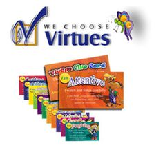 Product for teaching virtues at home, school, church