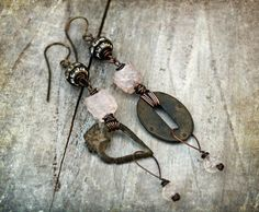 My Heart is Yours. Assemblage Mismatched by moonwingcrafts on Etsy