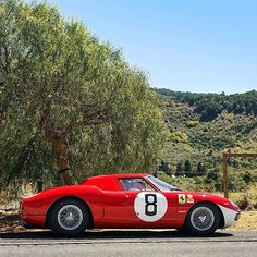 File Under: Morning commute wish list. #Ferrari #classiccars #sundaydrive : @alexpenfold