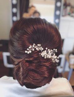 Hair Looks, Bridal Hair, Bobby Pins, Hair Accessories, Beauty, Beautiful, Fashion, Moda, Fashion Styles