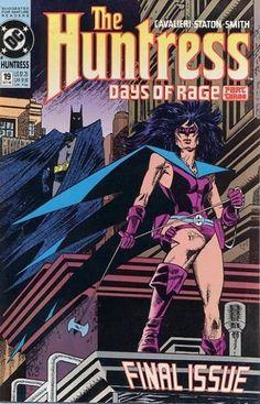 huntress comic book covers - Google Search