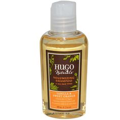 Hugo Naturals Shampoo - Vanilla and Sweet Orange - 2 oz *** This is an Amazon Affiliate link. Read more at the image link.