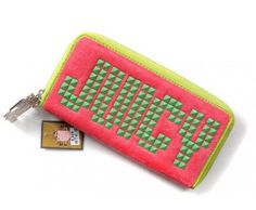 cheap - Cheap Juicy Couture Mosaic Wallets - Pink/Green - Wholesale Discount Price    Tag: Discount Juicy Couture Wallets Sale, Cheap Juicy Couture Wallets New Arrivals, Original Juicy Couture purses outlet, Wholesale Juicy Couture Wallets store