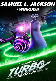 turbo movie posters | TURBO Character Posters | FilmoFilia