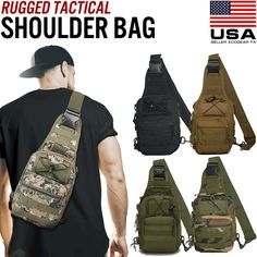 """Mens Tactical Shoulder that is sling Bag Travel Backpack Chest exterior Hiking Gear View """"Mens Tactical Sling Shoulder Bag Molle Travel Backpack Chest Outdoor Hiking Gear"""" on eBay Price: 13.99 Payments: Ends on : The post Mens Tactical Sling Shoulder Bag Molle Travel Backpack Chest exterior H… appeared first on BookCheapTravels.com."""