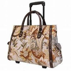 rolling leather tote bags for women - Yahoo Image Search Results Leather Laptop Bag, Laptop Bags, Rolling Laptop Bag, Best Laptop Cases, Unique, Tote Bags, Image Search, Women, Places