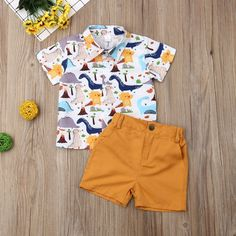 Outfits Niños, Short Outfits, Kids Outfits, Baby Outfits, Toddler Boy Outfits, Baby & Toddler Clothing, Boy Clothing, Toddler Chores, Summer Clothing