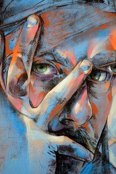 by rems greatest street art, urban art, graffiti art, Murals Street Art, 3d Street Art, Urban Street Art, Amazing Street Art, Street Art Graffiti, Street Artists, Amazing Art, Graffiti Artists, Street Portrait
