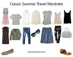 The Classic Packing List for Summer (Hot Weather) Travels