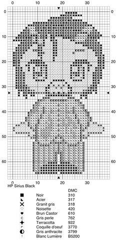Sirius Black - Harry Potter pattern