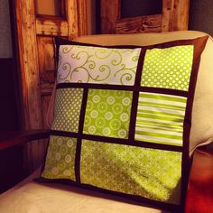 Modified French Window Pillow, via this lovely tutorial: http://modkidboutique.blogspot.com/2011/01/im-still-here-and-i-come-bearing-gifts.html