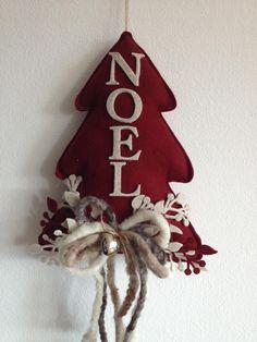 Felt Noel Christmas Tree